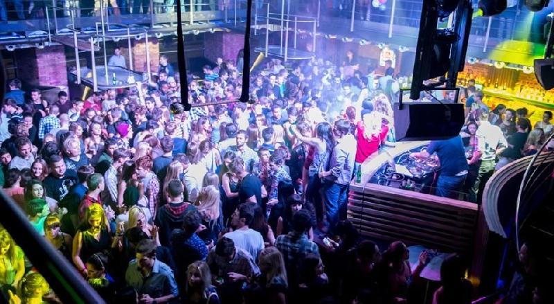 Флаер ночного клуба загородные клубы недалеко от москва